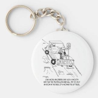 Truck Cartoon 0040 Key Ring