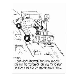 Truck Cartoon 0040 Postcard