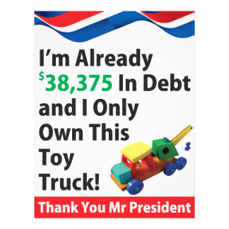 Truck Debt Personalized Flyer