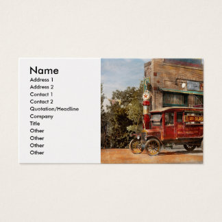 Truck - Delivery - Haas has it 1924 Business Card
