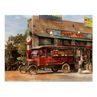Truck - Delivery - Haas has it 1924 Postcard