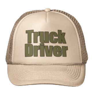 TRUCK DRIVER CAP