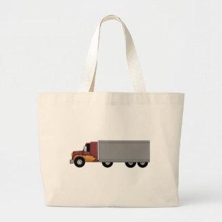 Truck Driver Jumbo Tote Bag