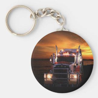 Truck driver key ring