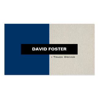 Truck Driver - Simple Elegant Stylish Pack Of Standard Business Cards