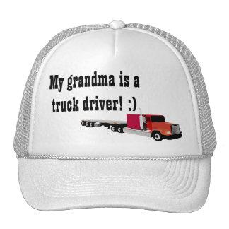 Truck Driving Grandma Hat