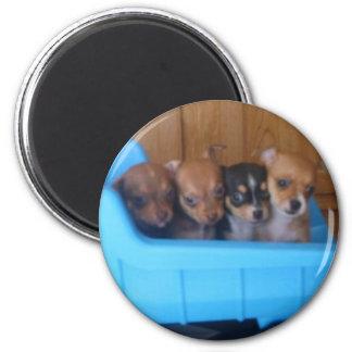 truck full 6 cm round magnet