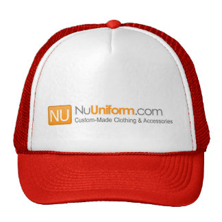 Truck hat with customizable corporate logo printed