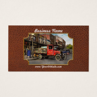 Truck - Home dressed poultry 1926 Business Card