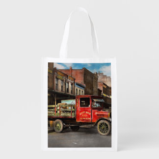 Truck - Home dressed poultry 1926 Reusable Grocery Bag