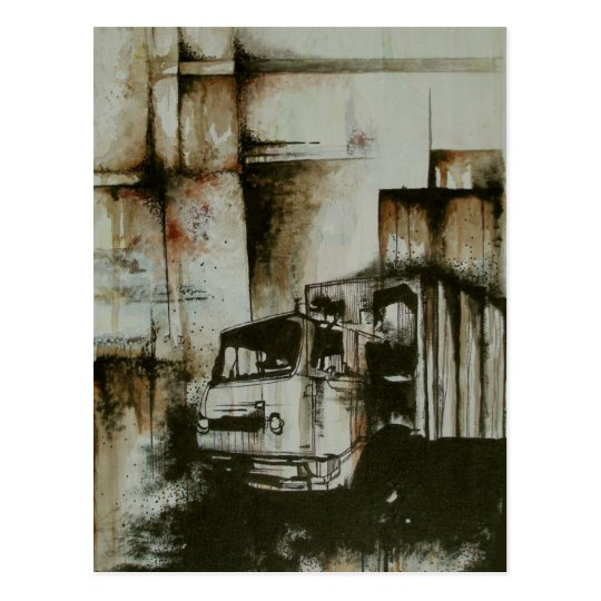 Truck Life Postcard