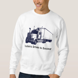 Truck & Lorry Driver Positive Thought Sweater