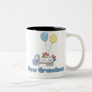 Truck New Grandma Baby Boy Coffee Mug