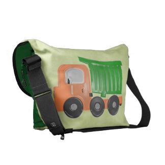 Truck (orange) Diaper Commuter Bags