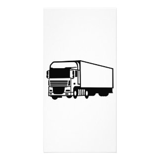 Truck Personalised Photo Card