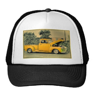Truck Photo Pictures Vintage Old Classic  T Shirt Hat