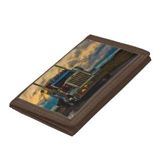 Truck Stop Sky Trifold Wallet