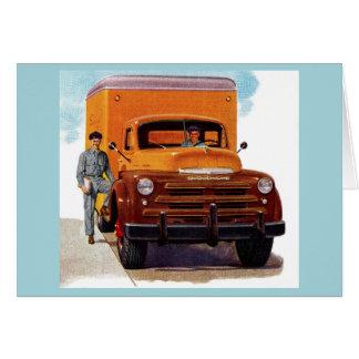 truck truckers truckin' card