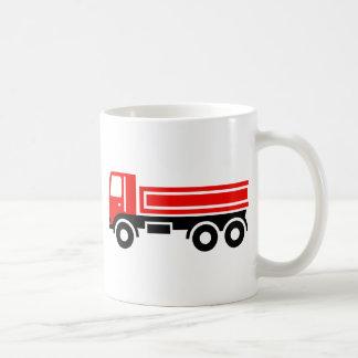 Truck with dump truck mugs