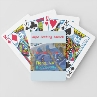 Truckee River Reno Nevada Christian Playing Cards