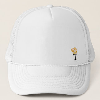 Trucker cap arched border TCK