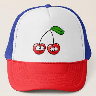 Trucker Hat Cherry Talk Style Kids Adults Funny