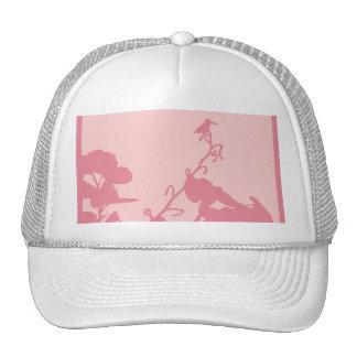 Trucker Hat PINK HUMMINGBIRD