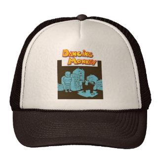 Trucker Hat Vintage brown Dancin Monkey