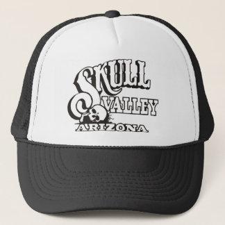 Trucker Hat w/ Skull Valley, Arizona Logo