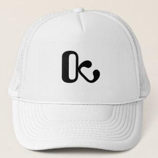 Trucker hat white/black OctopusChicky logo