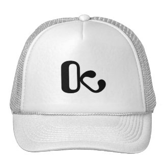 Trucker hat white/black OctopusChicky logo