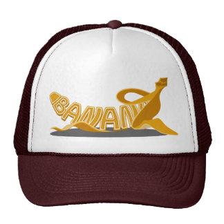 Trucker Hat with Banana Typo