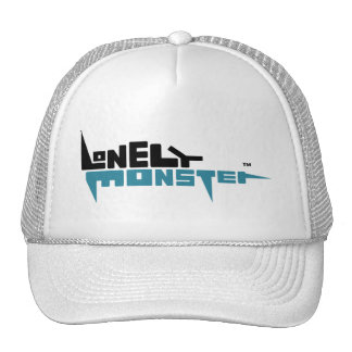 Trucker Hat with Black/Teal Logo