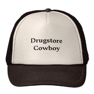"""Trucker Hat with """"Drugstore Cowboy"""""""