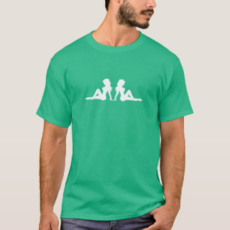 Trucker Mudflap Girls T-Shirt