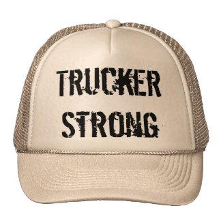 TRUCKER STRONG HAT !!