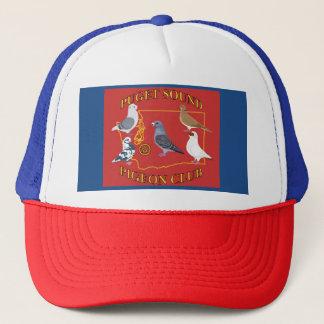 Trucker Style Puget Sound Pigeon Club Logo Hat