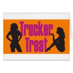 Trucker Treat Greeting Card