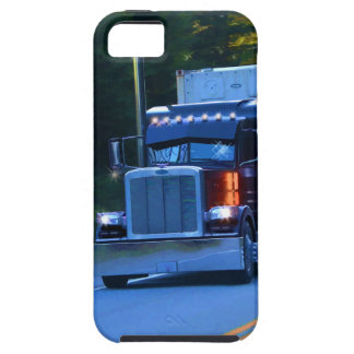 Truckers, Big Rig Cargo Truck Art iPhone 5 Covers