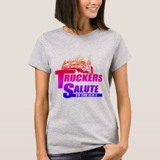 Truckers Salute T-Shirt