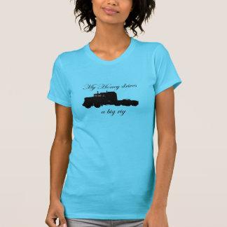 Truckers - Teamsters - My Honey Drives a Big Rig T-Shirt