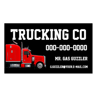 Trucking business cards 3000 trucking busines card for Trucking business card design