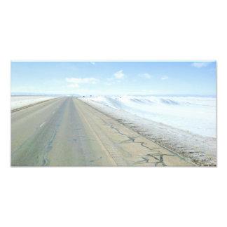 Trucking Interstate 80 Wyoming USA Photographic Print