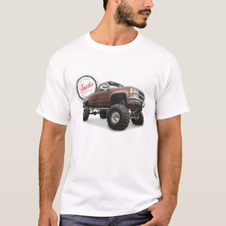 Trucks are Beautiful (4x4 Chevy) T-Shirt