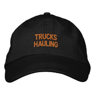 TRUCKS HAULING EMBROIDERED HAT