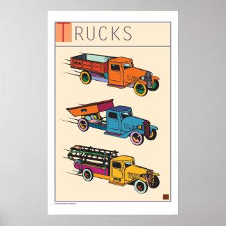 Trucks-Prints/Poster Poster