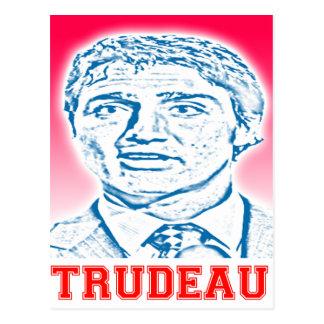 Trudeau Logo Postcard
