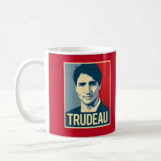 Trudeau Propaganda Poster -.png Coffee Mug