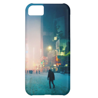 Trudging Through The Snow In Times Square iPhone 5C Case