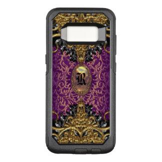 Trudie Lola Baroque Classic Monogram VIII OtterBox Commuter Samsung Galaxy S8 Case